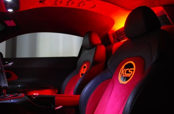 R8 interior lit