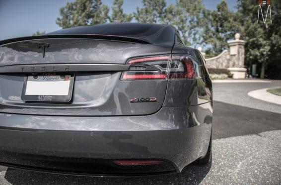 2017 Tesla Model S P100D Black | Focal America